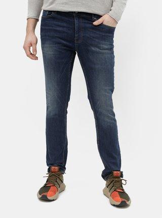 Blugi albastru inchis skinny fit Burton Menswear London