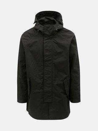 Jacheta parka neagra Burton Menswear London