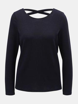 Tmavě modré tričko s pásky na zádech Jacqueline de Yong Emily