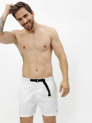 Pantaloni scurti de baie albi pentru barbati - Calvin Klein Underwear
