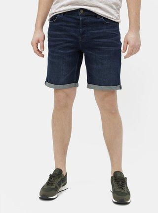 Pantaloni scurti albastru inchis din denim ONLY & SONS Ply