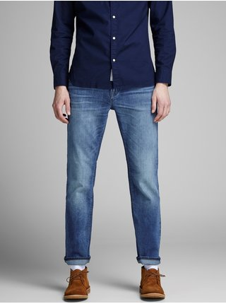 Blugi albastri regular Jack & Jones Clark