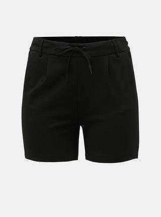 Pantaloni scurti negri ONLY CARMAKOMA Goldtrash
