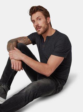 Tricou barbatesc gri inchis Tom Tailor