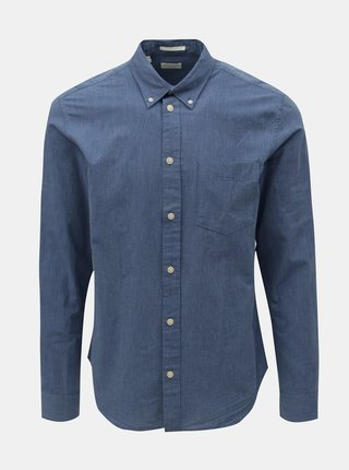 Camasa albastra regular fit Selected Homme Landon