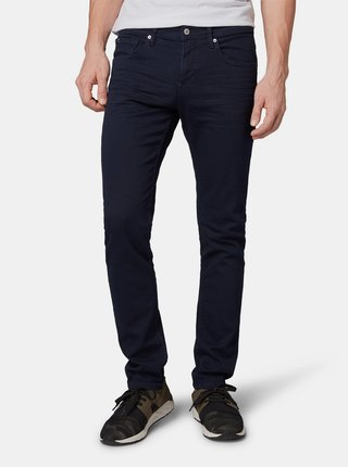 Blugi barbatesti albastru inchis slim fit Tom Tailor Denim