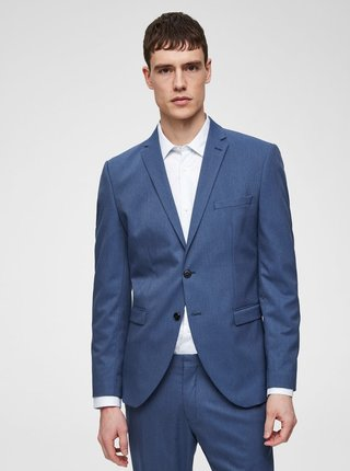Sacou formal albastru slim Selected Homme Logan