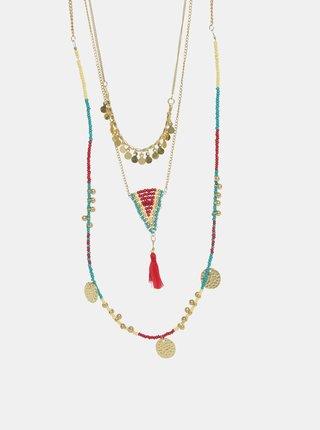 Colier auriu Pieces Benitta