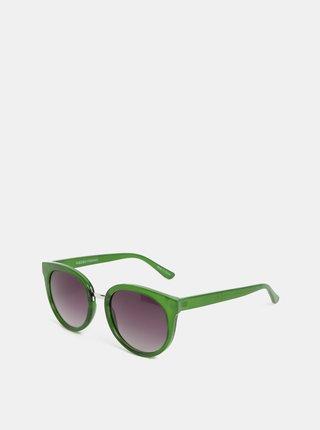 Zelené slnečné okuliare Pieces Betty