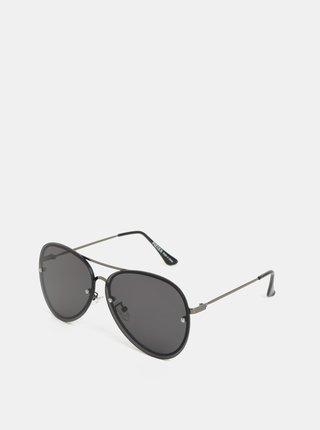 Černé sluneční brýle Pieces Becki