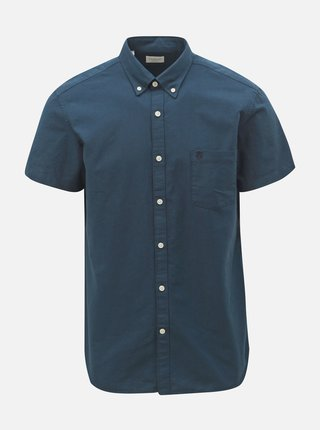 Camasa albastru inchis regular fit Selected Homme Collect