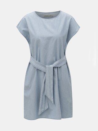 Rochie albastru deschis din denim VERO MODA Miley