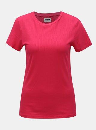 Ružové tričko Noisy May Melse