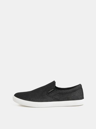 Pantofi slip on negri Jack & Jones Rowden
