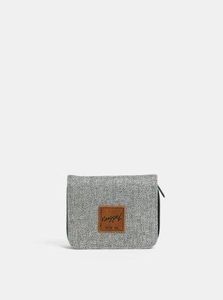 Sivá dámska melírovaná peňaženka NUGGET Leticia