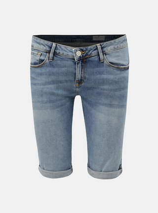 Pantaloni scurti albastri de dama din denim Cross Jeans Amy