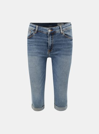 Pantaloni scurti albastri de dama din denim Cross Jeans Adele