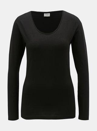Tricou basic negru Jacqueline de Yong Ava