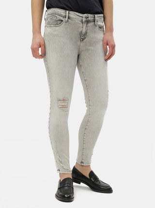 Blugi gri deschis skinny fit de dama Cross Jeans Alyss