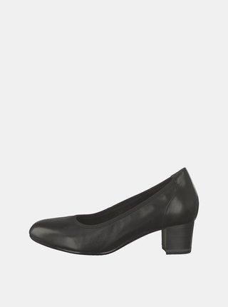Pantofi negri din piele Tamaris Tizi