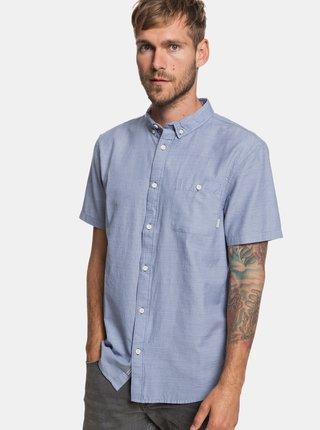 Světle modrá žíhaná modern fit košile  Quiksilver