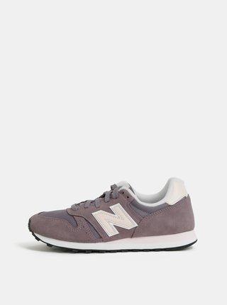 Fialové dámské semišové tenisky New Balance 373