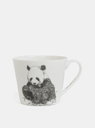 Cana alba din portelan cu motiv panda Maxwell & Williams