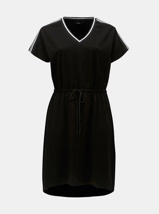 Čierne šaty Zizzi Skylar