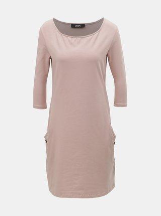 Starorůžové šaty ZOOT