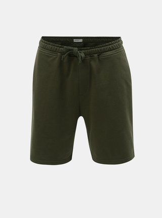Pantaloni scurti sport kaki Burton Menswear London