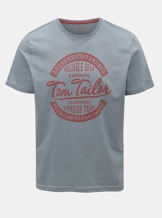 Tricou barbatesc albastru Tom Tailor
