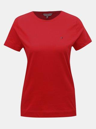 Červené dámské tričko Tommy Hilfiger Tessa