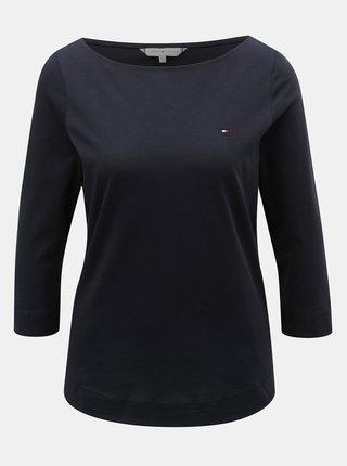 Tmavě modré dámské tričko Tommy Hilfiger Tessa