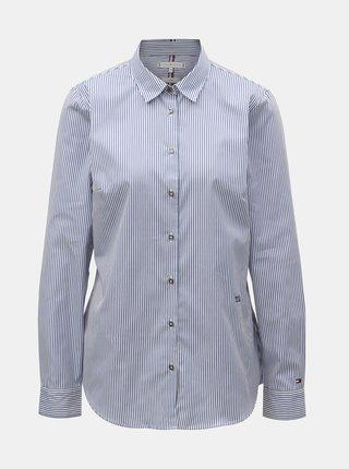 8bd2681c4b3e Krémovo-modrá košeľa s prekríženým zadným dielom Noisy May Conansa ...