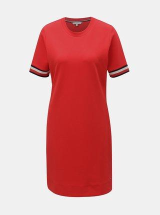 Červené šaty Tommy Hilfiger Thea