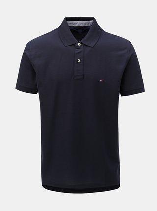 Tmavě modré pánské regular fit polo tričko Tommy Hilfiger