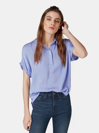 Bluza mov deschis cu model de dama Tom Tailor Denim