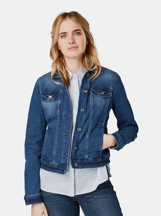 Jacheta albastra de dama din denim Tom Tailor