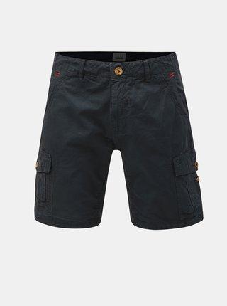 Pantaloni scurti gri inchis cu buzunare Blend