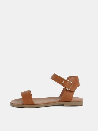 Hnedé sandále Dorothy Perkins