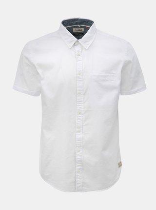Biela košeľa s vreckom Blend