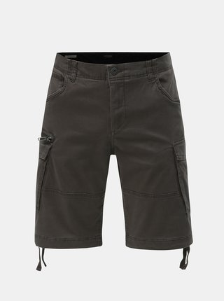 Pantaloni scurti gri inchis Jack & Jones Jichop