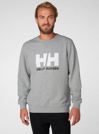 Bluza sport barbateasca gri cu imprimeu HELLY HANSEN