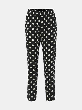 Pantaloni negri cu buline Jacqueline de Yong Star