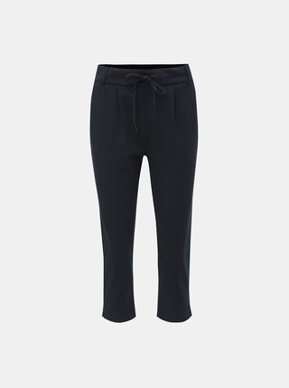 Tmavě modré 3/4 kalhoty ONLY Poptrash