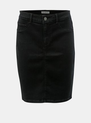 Černá džínová sukně ONLY CARMAKOMA Hunder