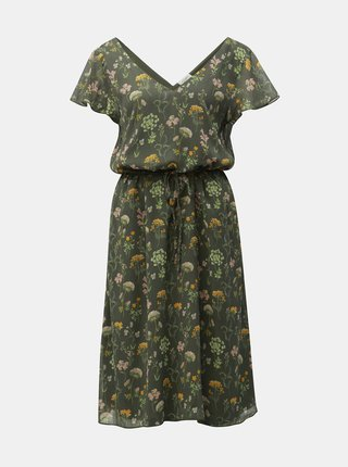 Rochie verde florala Jacqueline de Yong Jennifer