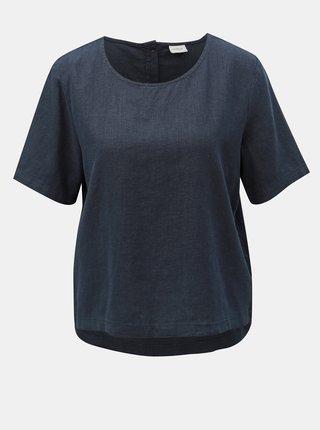 Bluza albastru inchis din in Jacqueline de Yong Jake