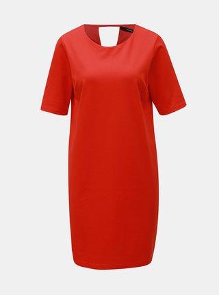 Červené šaty VERO MODA Alexa