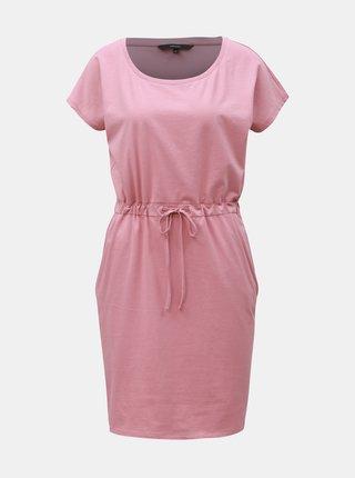 Růžové šaty s kapsami VERO MODA April